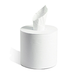 Kruger Products Embassy Premium Center Pull Towels, 2-Ply - 1 case of 6 rolls - 600 ft per roll